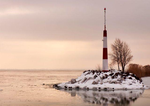 A Balaton télen is riviéra